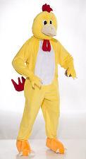 Adult Plush Chicken Mascot Costume Full Body Animal Suit Size Standard