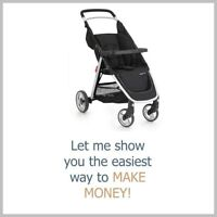 BABY BUGGIES Dropshipping Website Earn £132 A SALE|FREE Domain|Hosting|Traffic
