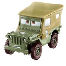Modellini statici di auto, furgoni e camion verde scala 1:55 sul Cars