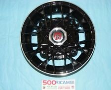 """FIAT 500 F/L/R 126 4 CERCHI IN LEGA A RAGGI RUOTE DA 4,5 X 12"""" NERI EPOCA 4X190"""