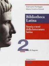 Bibliotheca Latina vol.2 PRINCIPATO SCUOLA Pontiggia, cod:9788841622131