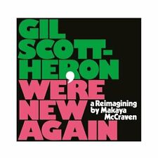 GIL SCOTT-HERON WE'RE NEW AGAIN RE-IMAGINING NEW SEALED VINYL LP IN STOCK