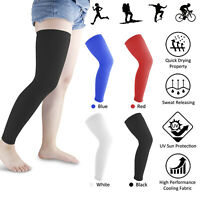 Leg Brace Knee High Compression Sleeve Socks Support Pain Relief Sport Men Women