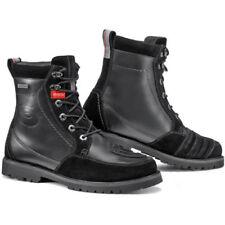 Stivali da guida fuoristrada neri scamosciato