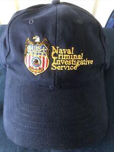 🇺🇸 US Fan Favor NCIS  Hat Cap StrapBack OSFO Blue Adjustable Baseball Spots