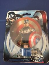 Marvel Night light Captain America Shield Avengers Marvel Kids - Standing Pose