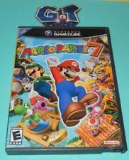 MARIO PARTY 7 Nintendo Game Cube GC Case, Disc, No Manual Tested