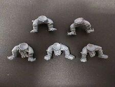 Warhammer 40k Ork Lootas / Burna Boyz x5 Legs Bits