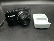 Canon PowerShot SX280 HS 12.1 MP Digital Camera-Black with charger and 16 gb mem