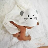 100% Organic Baby Hooded Towel Bamboo Toddler Bath Towel Bamboo Towel washcloth