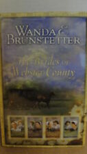 "WANDA BRUNSTETTER 4 STORY FICTION  BOOK  ""THE BRIDES OF WEBSTER COUNTY"""