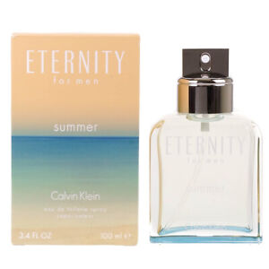 Calvin Klein Eternity For Men Summer 2015 100ml Eau De Toilette EDT Spray - New