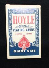 "VTG Hoyle Giant Size PLAYING Cards Stancraft Products 7 x 4.5"" Nevada Finish USA"