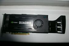 HP NVIDIA QUADRO K4000 GK104 PCI-EX16 GDDR 5 3 GB DVI/2 x Display Port