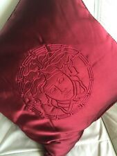 "$500 VERSACE PILLOW CUSHION MEDUSA  19"" NEW in bag SALE"