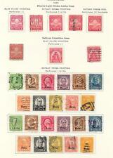 United States stamps 1929 Collection of 30 stamps KANSES + NEBRASKA!