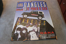 "The Bangles 89 Spain Europe Tour Concert Advertising Poster 40""x55""Susanna Hoffs"