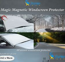 2 x Windscreen Cover Magnetic Car Ice, Frost & Snow All Weather Shield Screen