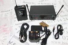 STAGELINE TXS-631SET TIE PIN UHF Radio Microfono Sistema. lisence libero.
