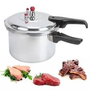 3 LItre Pressure Cooker Aluminium 3L Kitchen Catering Home Cookware Duel Handle