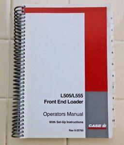 CUSTODIA C CX MX SERIES TRACTOR L505 L555 LOADER OPERATORS MANUAL 220+ PAGES