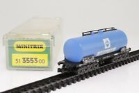 Minitrix 3553 Spur N Kesselwagen ARAL 4-achsig in OVP