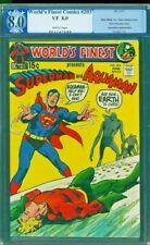 WORLD'S FINEST 203 PGX 8.0 Superman Aquaman Neal Adams 1971 CGC