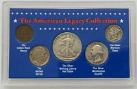 The American Legacy Collection 5 Piece Coin - Half, Quarter, Dime, Nickel, Penny