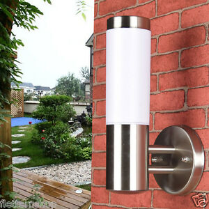IP44Stainless Outdoor Setup Wall Light Lamp Exterior Garden Waterproof Lighting