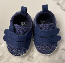 OshKosh B'gosh Boys Blue Sneakers Newborn