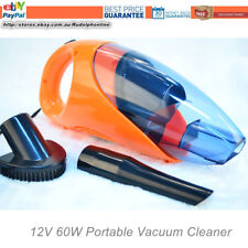 12V Portable Bagless Handheld Wet/Dry Auto Car Vacuum Cleaner W/LED Light 60W
