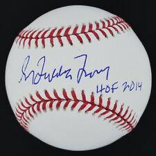 "Greg Maddog Maddux ""HOF 2014"" Signed OML Baseball Braves Beckett COA #U28216"