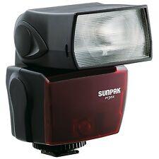 SUNPAK Flash pf-30x per Nikon D3300 D3200 D3100 D3000 D5000 D300s D300 * NUOVA *