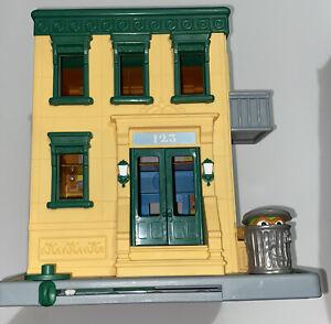 Sesame Street Mr Hoopers Store 123 Playhouse with Cookie Monster Elmo Bert Ernie