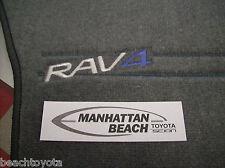 1996-2000 RAV4 4 DR (5 DR) GRAY CARPET FLOOR MATS GENUINE TOYOTA 00200-42965-03