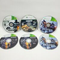 Lot of 4 Xbox 360 Games Battlefield Bad Company, Modern Combat, 3 & 4 Preowned