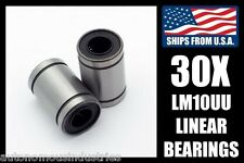 BULK! Qty. 30, 10mm Linear Bearings, LM10UU
