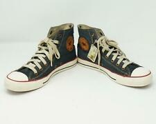 Converse All Star Men's Chuck Taylor Sneakers Denim Leather Men's 8 Women's 10