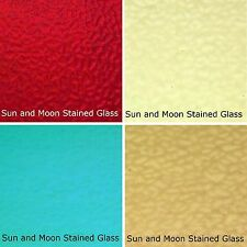Wissmach Stained Glass Sheet Pack #C - 4 Sheets of ENGLISH MUFFLE (Size 8X10)