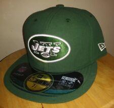2257244ad Jets Cap New York NFL Hat New Era On Field 59FIFTY Flat Brim NY Mens 7