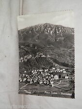Vecchia cartolina foto d epoca di Pieve Tesino panorama veduta scorcio case
