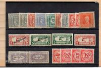 20 timbres Autriche neufs