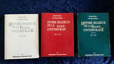 Histoire religieuse de la France Contemporaine - Cholvy & Hilaire - 3 vols 1986