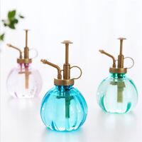 Plastic Watering Cans Spray Pump Bottles Mister Garden Plant Flower Retro Style