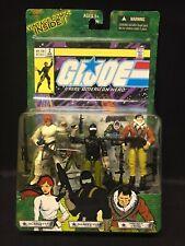 GI Joe - Scarlett Snake Eyes Tracker Kwinn Comic #2 3-Pack Action Figures