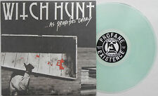 Witch Hunt -...As Priorities Decay LP CLEAR WAX Aus-Rotten Philadelphia Hardcore