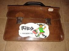 "Vintage early 80's Greek ""Pipi Langstrumpf""  pre school hand bag!!"