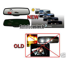 Universal Night Eyes Auto Dimming Rearview Mirror+Electronic Compass/Temperature