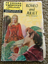 1969 Classics Illustrated Romeo and Juliet by William Shakespeare No. 134