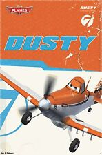 2013 DISNEY PIXAR PLANES DUSTY POSTER 22x34 NEW FAST FREE SHIPPING
